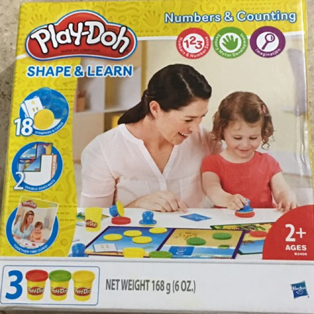 PlayDoh Shape & Learn