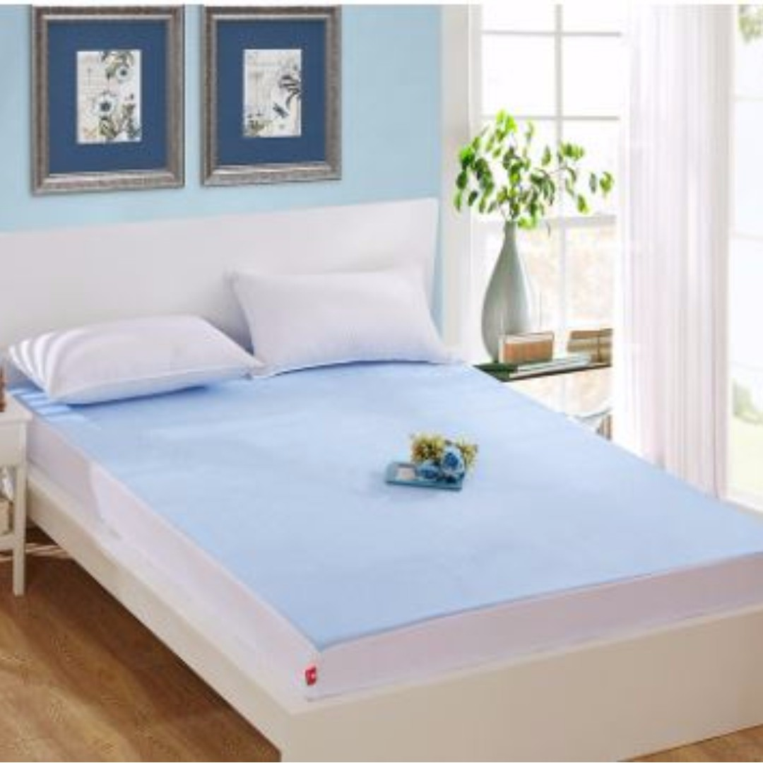 Premium Quality Bamboo Fiber Waterproof Mattress Sheet/Bed Protector New,  Furniture, Beds U0026 Mattresses On Carousell
