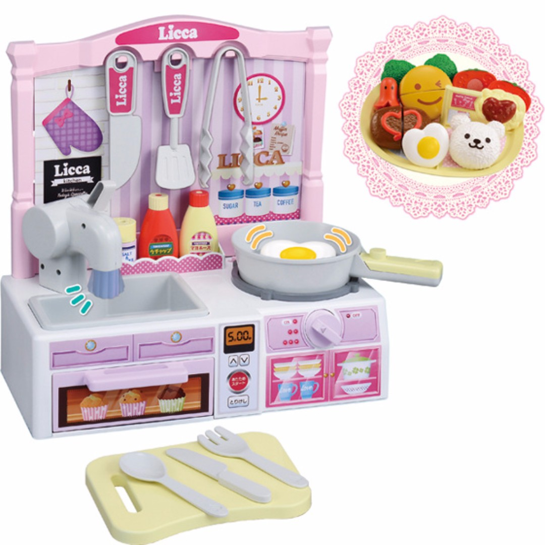 [Pre-order] Licca Chan Pon Pon Cooking Kitchen