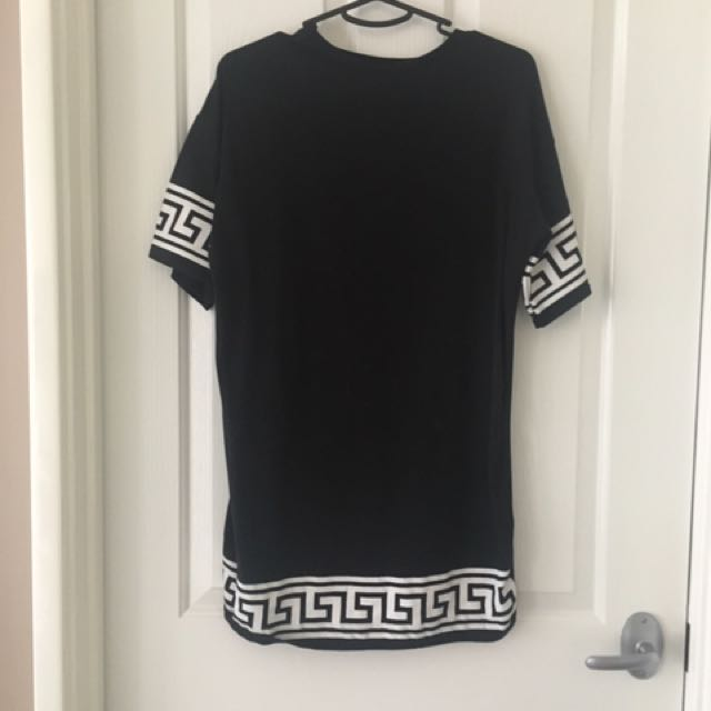 Printed T-shirt Dress Size S-M