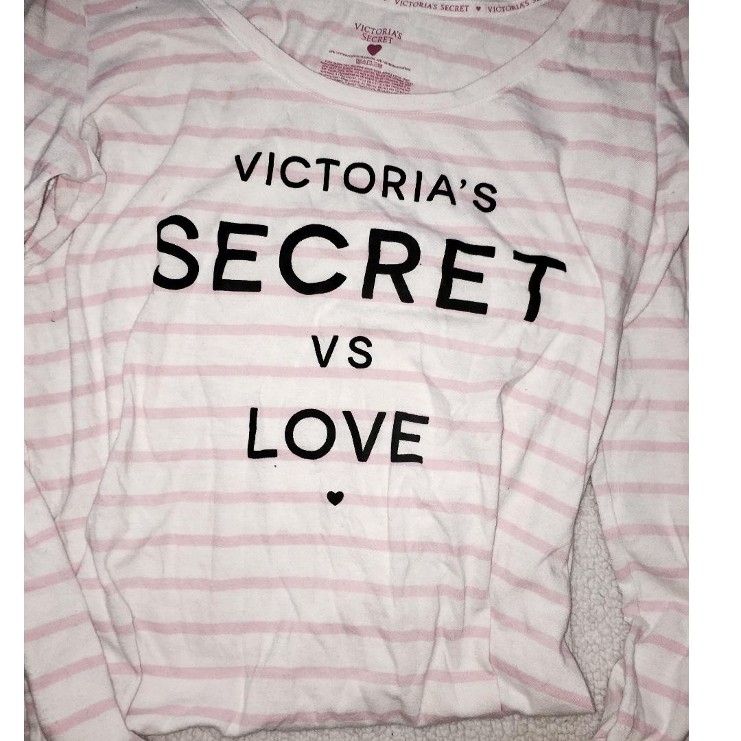 Really Cute Victoria's Secret PJ Top