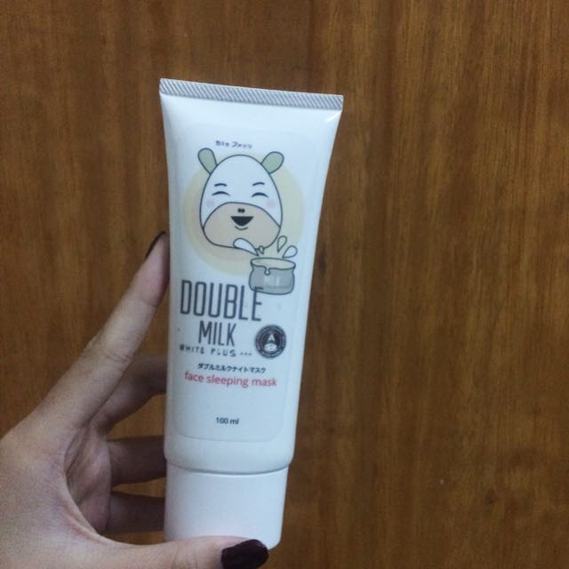 Recipe Night Mask Double Mask Asli
