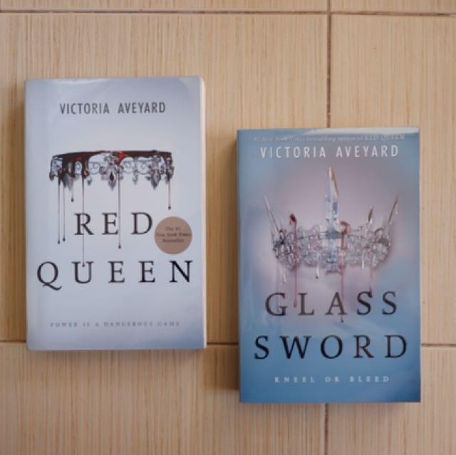 (PB) Red Queen; Glass Sword