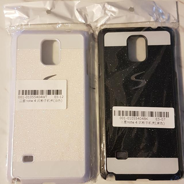 Samsung Note 4 Phone Case (Black & White)