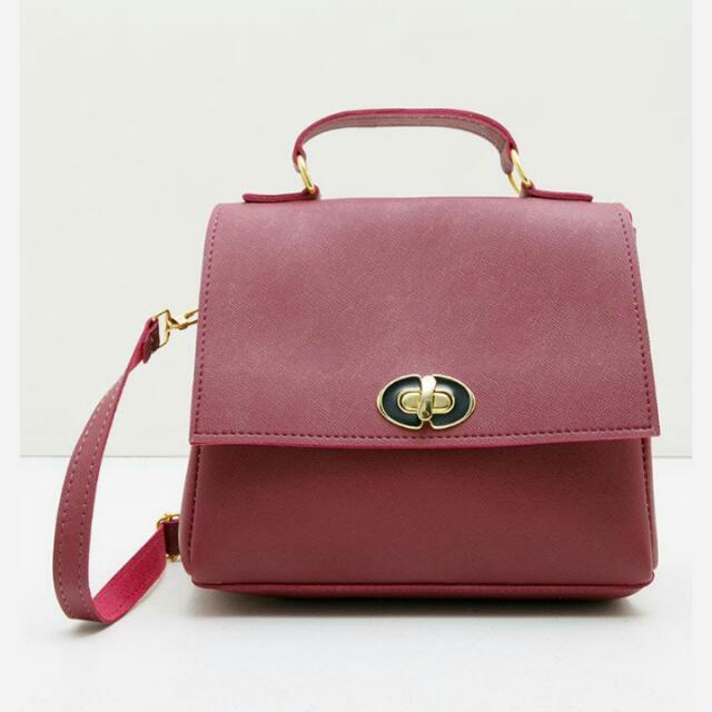Satchel Bag by Louvre Paris ( Bisa NEGO ) Bags/Hand Bag/Sling Bag/Tote Bag/Clutch/Wallet/Tas Wanita/Fesyen Wanita