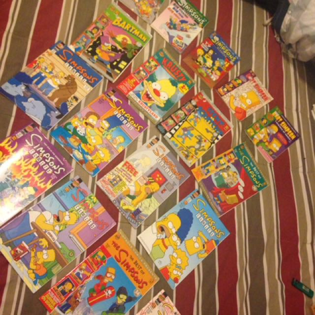 Simpsons AUTHENTIC Collectors Edition Comics