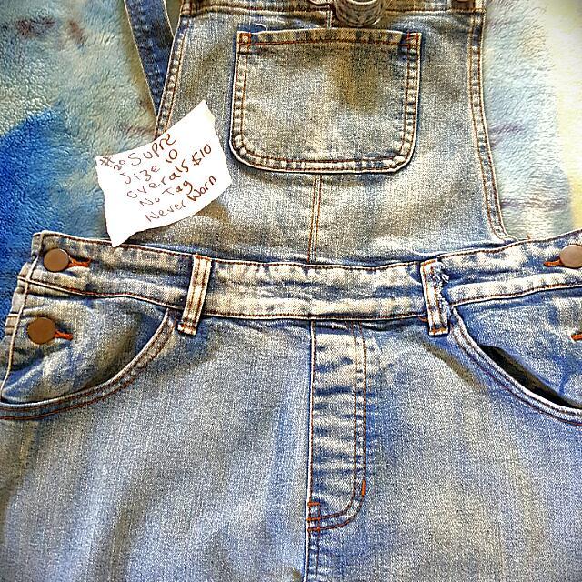 Size 10 Ladies Never Worn Overalls