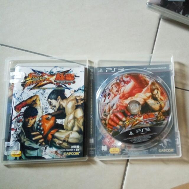 Street Fighter Vs Tekken Ps3 Original Game