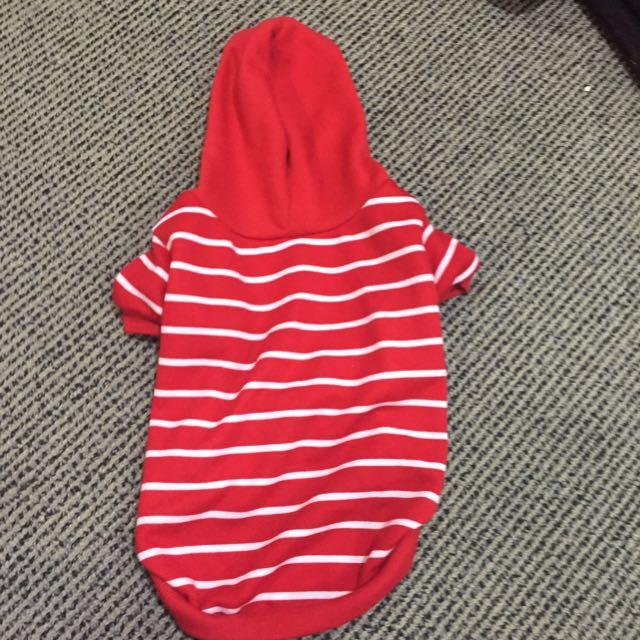 Striped Dog hoodie