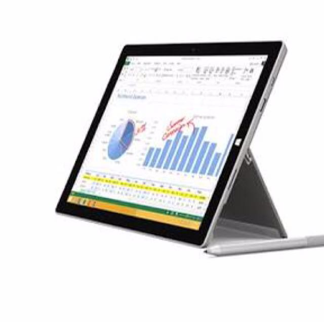 Surface Pro 3 With Type Cover 4