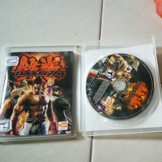 Tekken 6 PS 3 Original Game