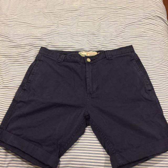 The Academy Brand Navy Shorts