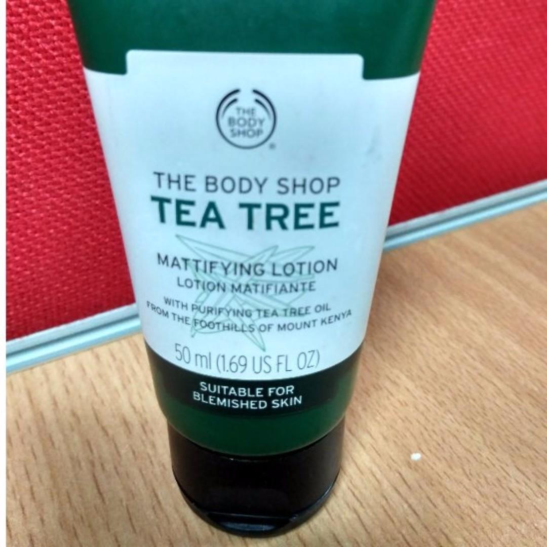 The Body Shop TBS Tea Tree Lotion