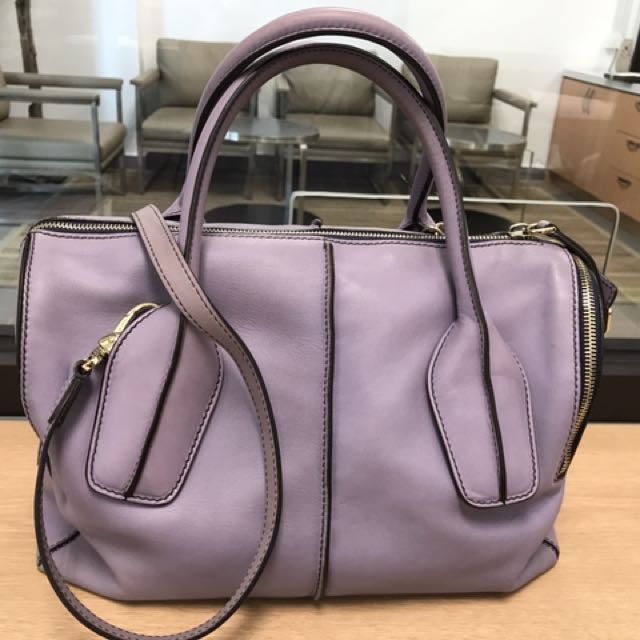 f941dcb5cd8 Tod's D-Styling Bauletto Zip Piccolo Satchel, Luxury, Bags & Wallets ...