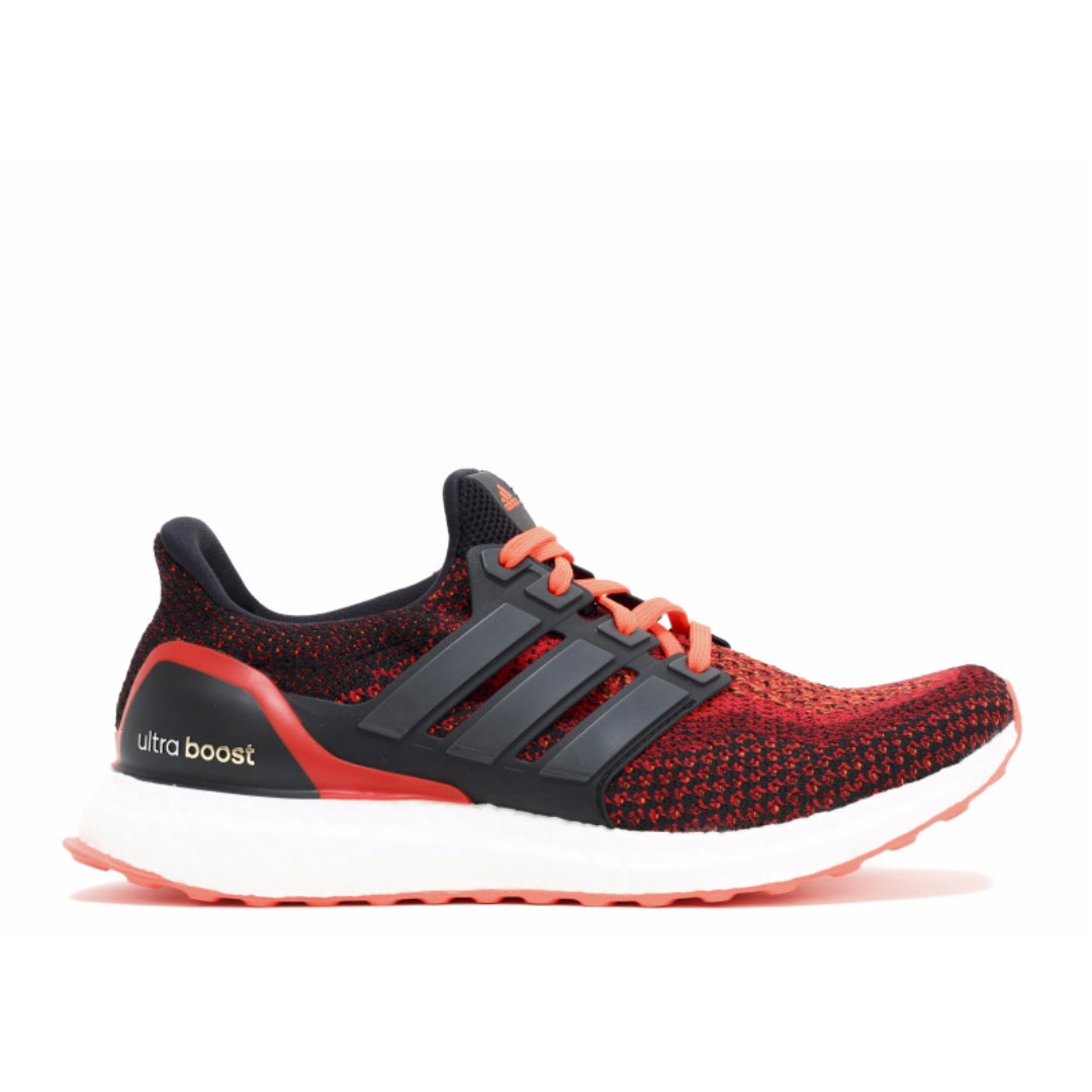 "Ultra Boost ""Solar Red"""