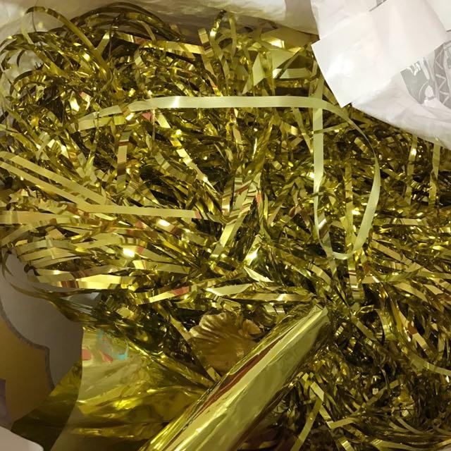 Untuk Dekor Serba Gold Silver