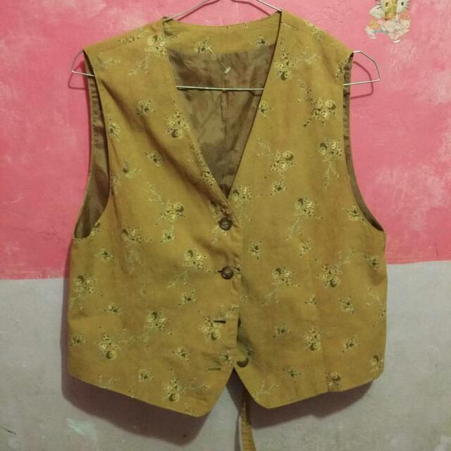 Vest Motif /outer/rompi