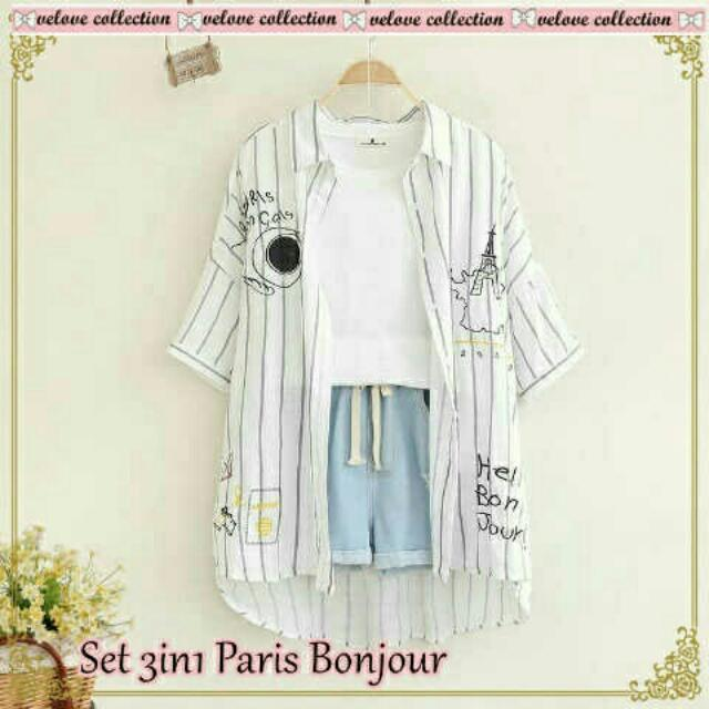 VS-SET 3IN1 PARIS BONJOUR