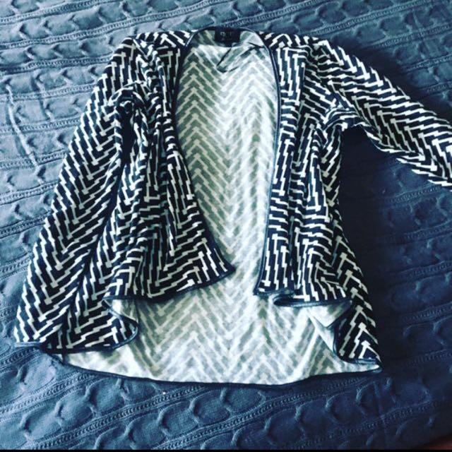 Zig Zag Pattern Jacket!