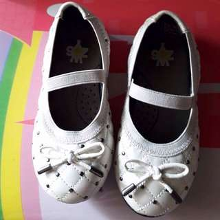 Doll Shoes White