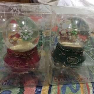 全新限量金莎聖誕水晶球