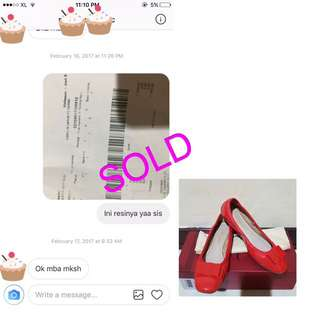 SOLD: SALVATORE FERRAGAMO😊🙏🏻