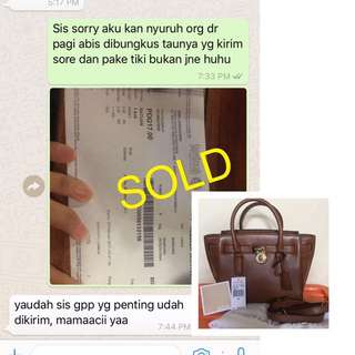 SOLD: MICHAEL KORS😊🙏🏻