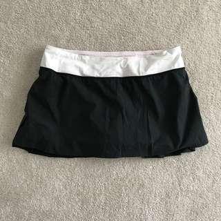 Black Lululemon Skirt - Size 10