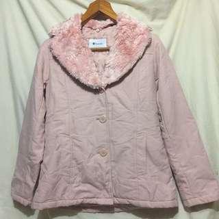 日本Suzuya 粉紅色間棉褸