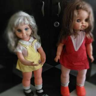 Boneka Tahun 70-80 An