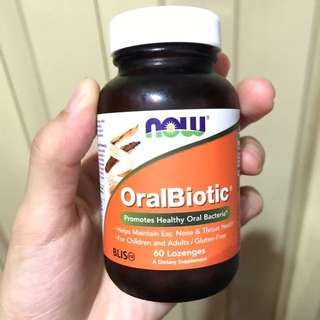 Now Foods OralBiotic, 口腔益生菌含片