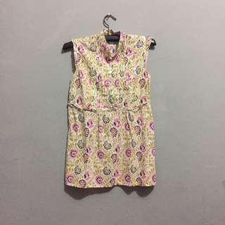 COTTON ON Flowery Sleeveless