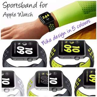 Sportsband For Applewatch Nike Look @$25