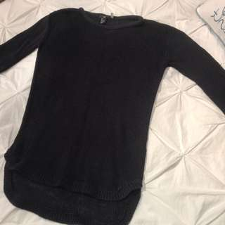 Navy H&M Sweater (S)
