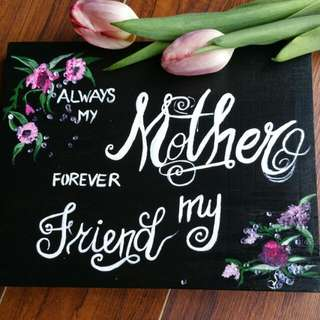 Mother's Day Wood Sign/gift