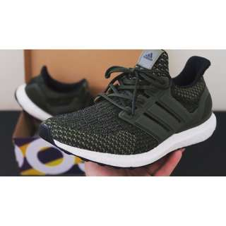 ULTRA BOOST 3.0 OLIVE GREEN US6