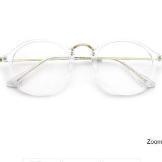 New With Tags Dalton Clear Frame Glasses-Fake Lenses