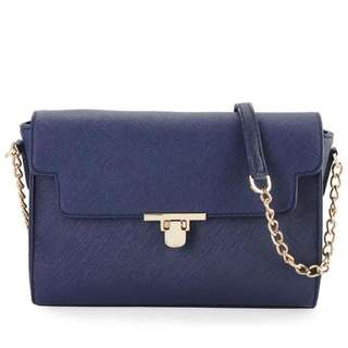 Les Catino Shelby Crossbody Navy