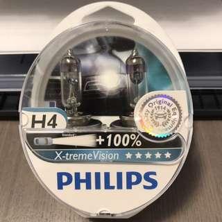 Philips X-treme Vision +100% - H4