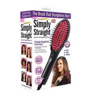 Brush hair straighten