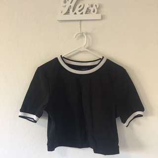 French Connection Crop Top
