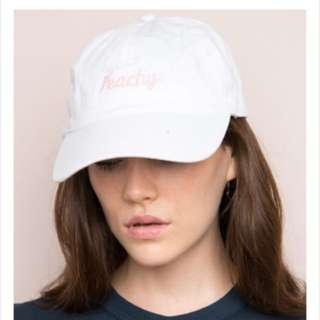 Brandy Melville Peachy Hat