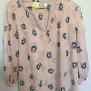 Country Road Smock Top - XS