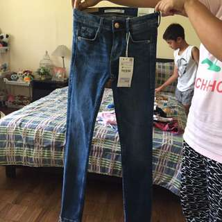 ZARA TRUFALUC CROPPED YOUR CURVES JEANS