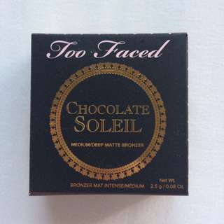 Too Faced Chocolate Soleil Bronzer (DELUXE SAMPLE)