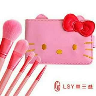 <全新未使用>LSY林三益Hello Kitty刷具組