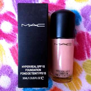 Mac Hyper Real Spf 15 Foundation