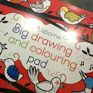 The Usborne Drawing & Colouring Pad