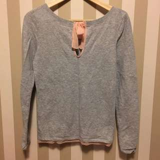 Aerie Open Back Sweater