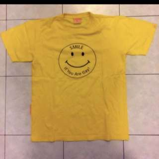 Cotton Smiley T-Shirt